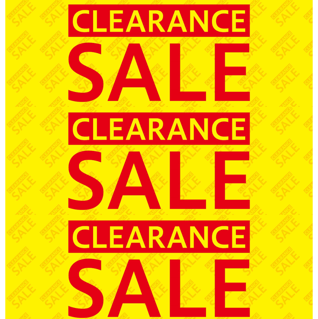 CLEARANCE SALE開催中‼